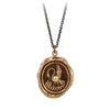 Pyrrha Maternal Devotion Talisman Necklace Bronze