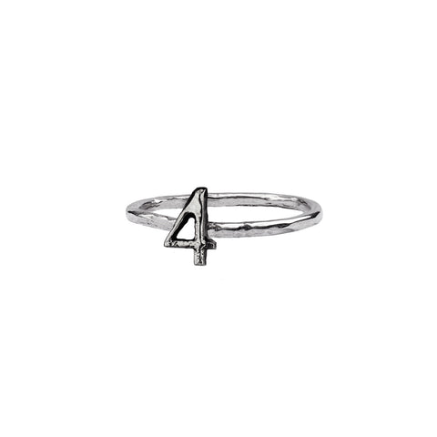 Number Charm Ring - Pyrrha - 1