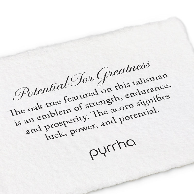 Pyrrha Potential For Greatness Fine Curb Chain Silver