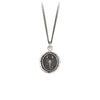 Pyrrha Scorpion Talisman Necklace Silver