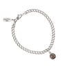 Pyrrha Smoky Quartz Small Faceted Stone Talisman Chain Bracelet