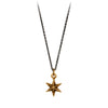 Pyrrha Star Symbol Charm Necklace Bronze