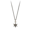 Pyrrha Star Symbol Charm Necklace Silver