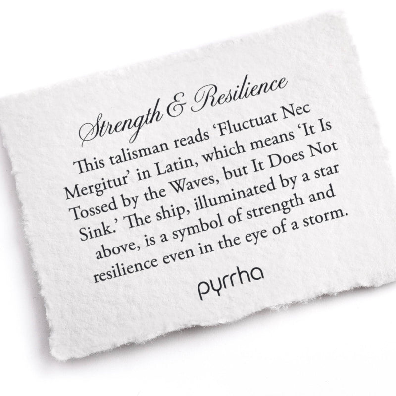 Pyrrha Strength and Resilience Talisman Necklace