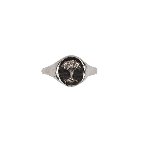 Tree Symbol Signet Ring - Pyrrha  - 1