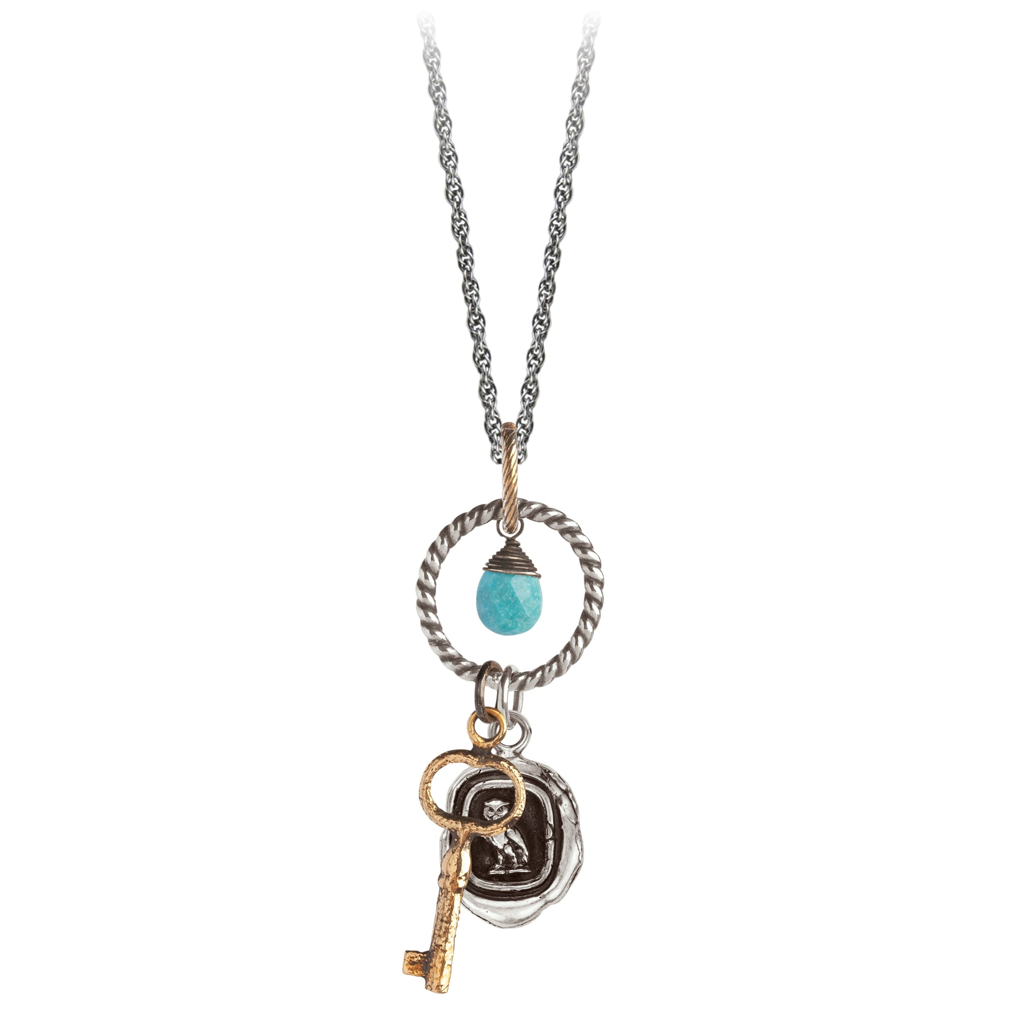 Pyrrha Watch Over Me Eternal Necklace