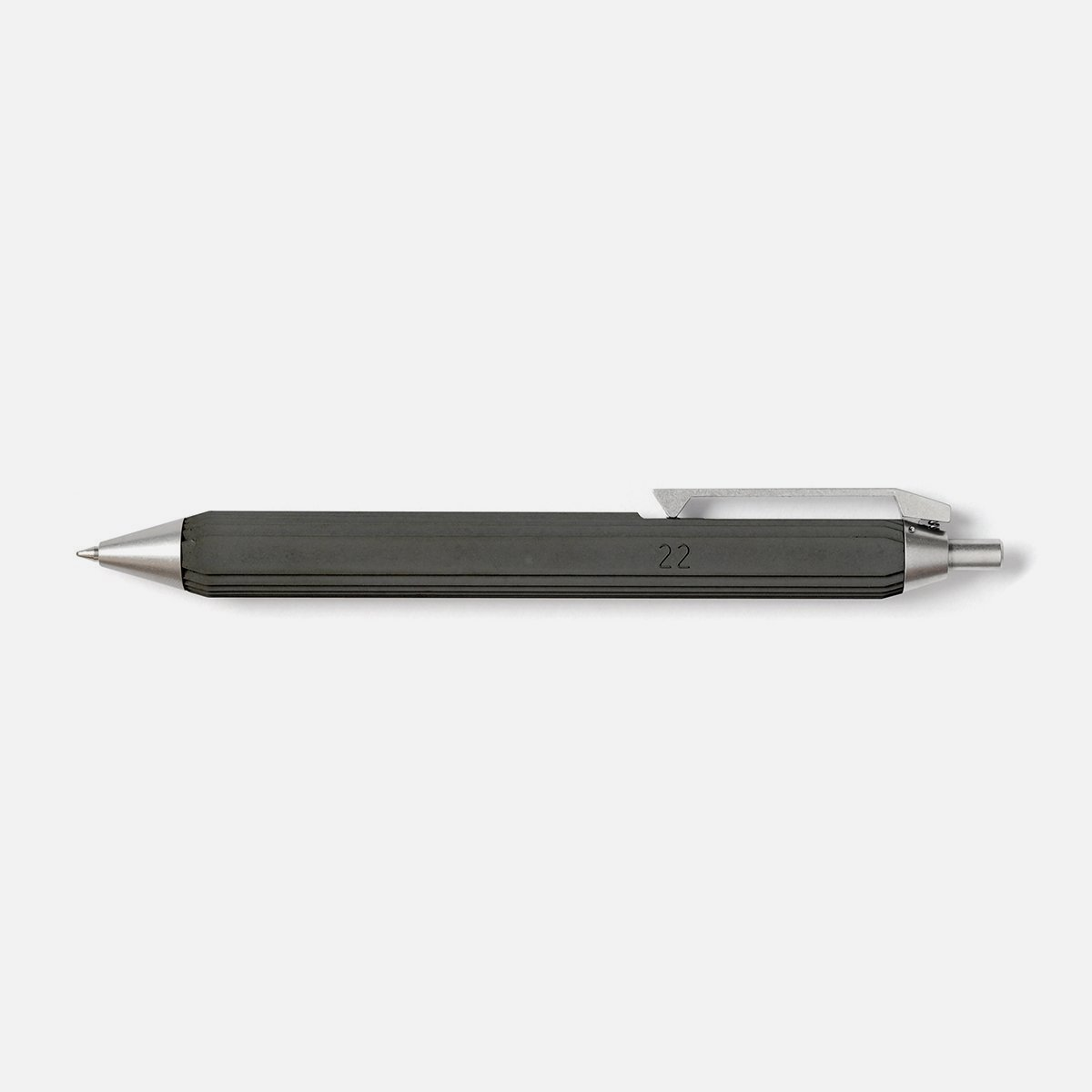 22 - Contour Ballpoint Pen (Dark Grey)