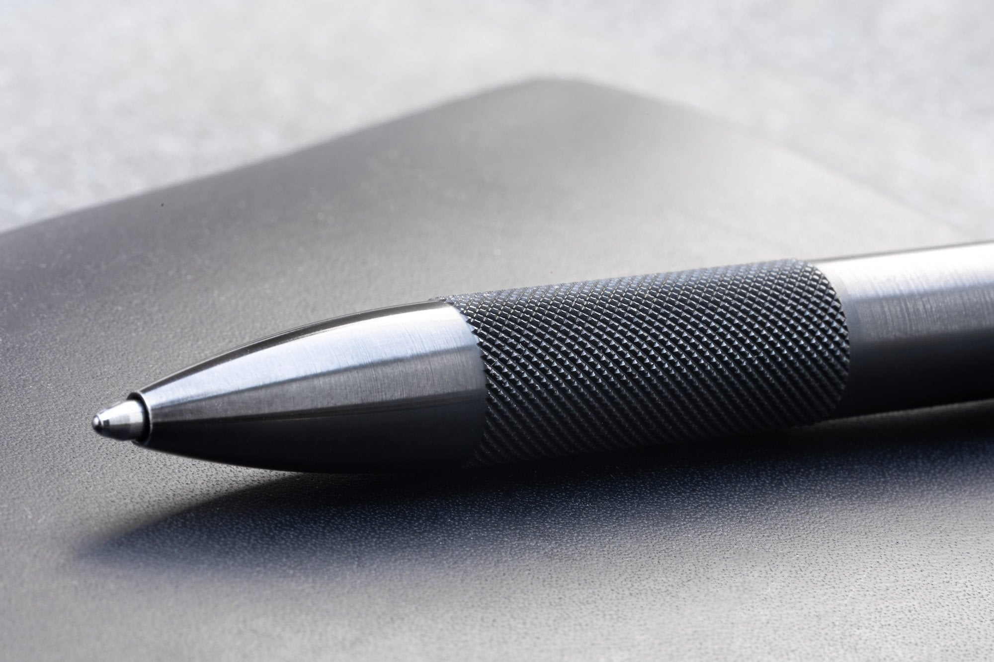 Wingback - Mechanical Pen (Black Steel)