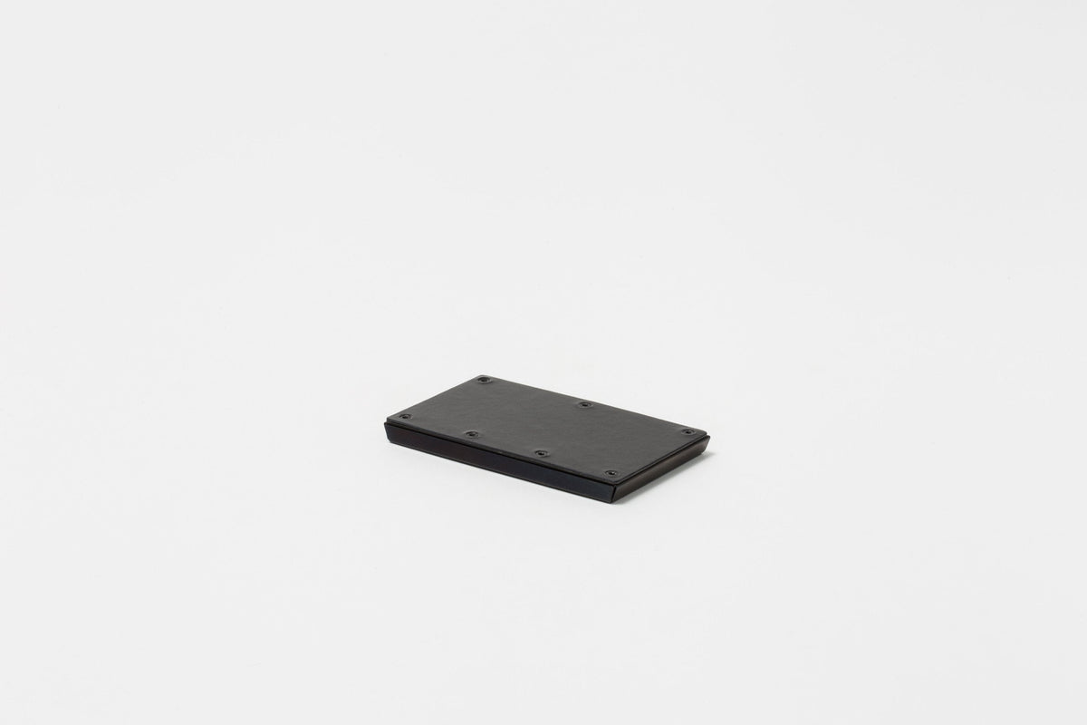 Claustrum - Card Case Serve (Leather Black Out Finish)
