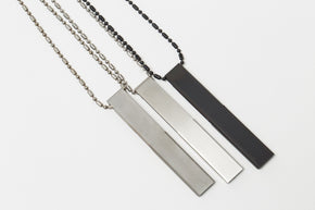 Claustrum - USB Pendant 'No Name' 8GB (Hairline Finish)
