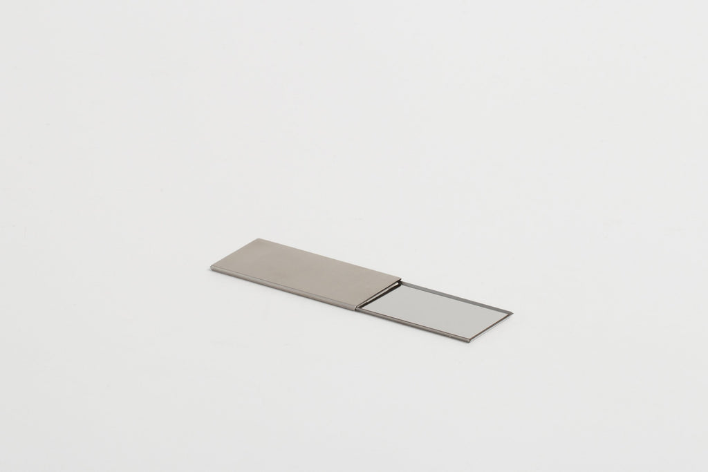 Claustrum - Compact Mirror (Hairline Finish)