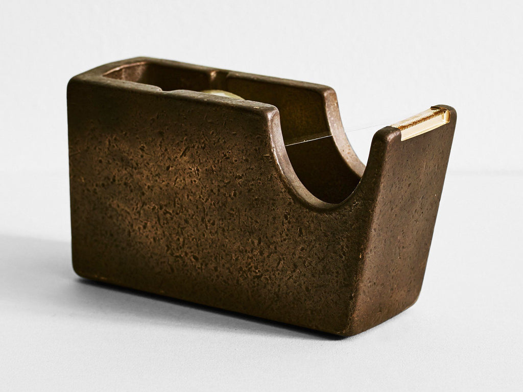 Henry Wilson - Tape Dispenser (Blackened Bronze)