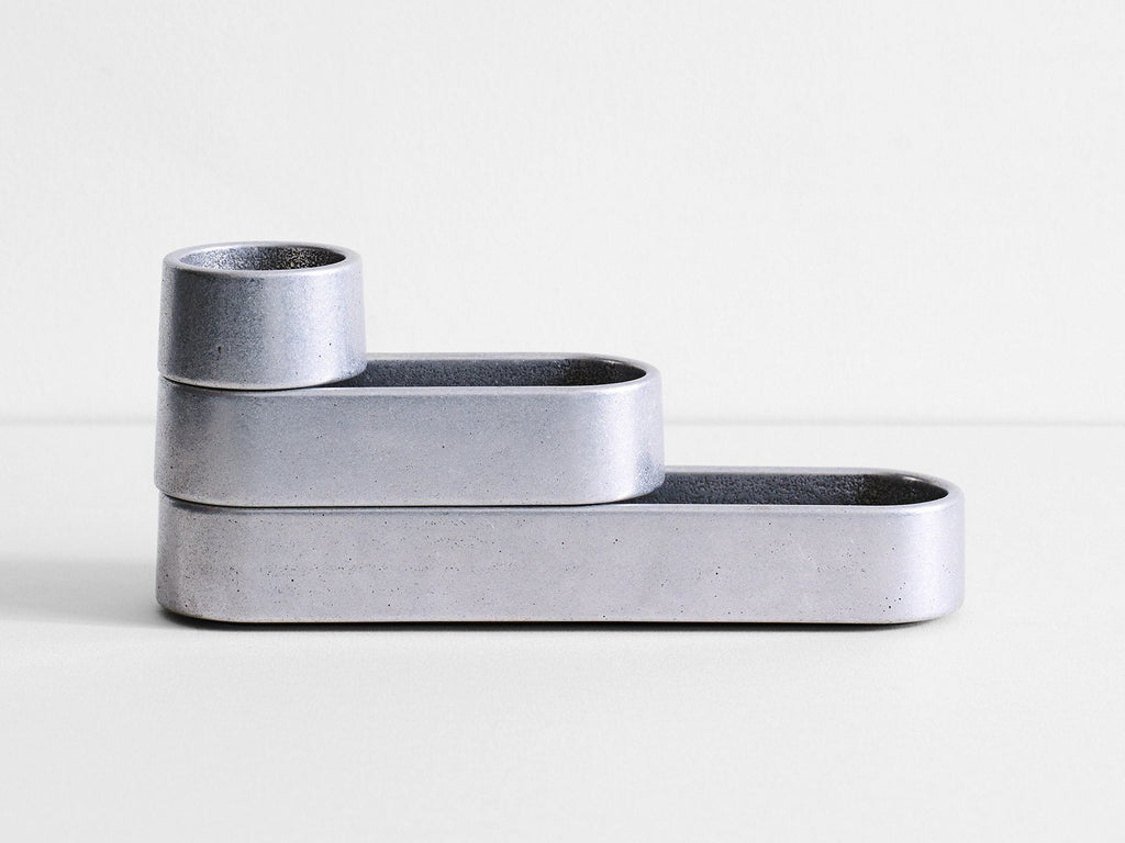 Henry Wilson - Stack Trays (Polished Aluminium)