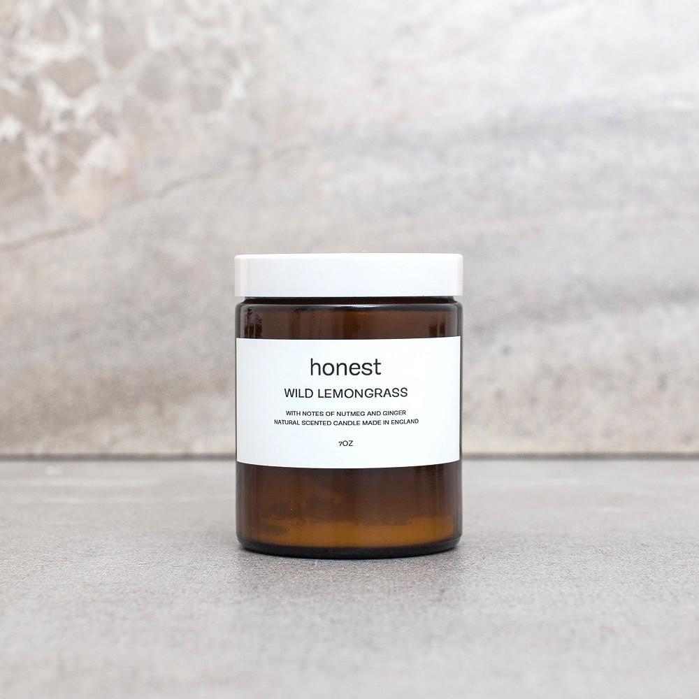 Honest - Wild Lemongrass Candle