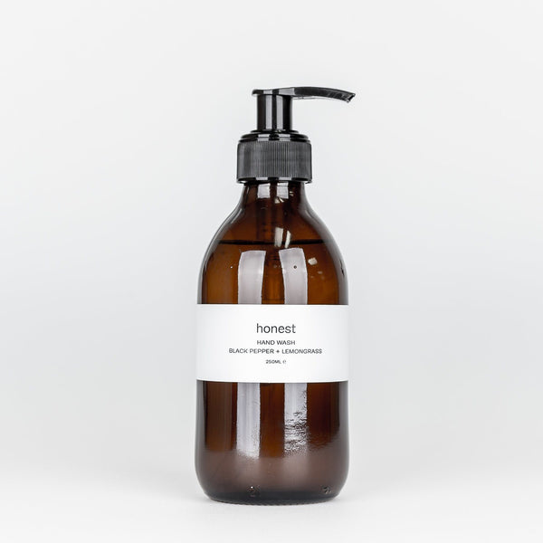 Honest - Hand Wash (Black Pepper & Lemongrass)