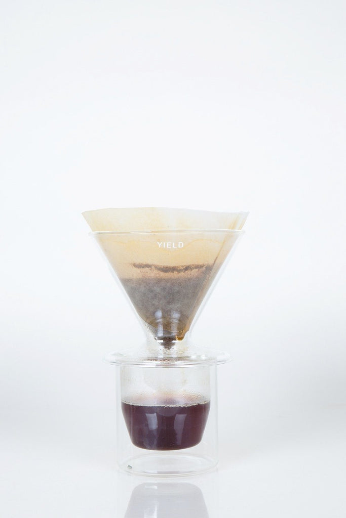 Yield - Double Wall Pour Over (Clear)