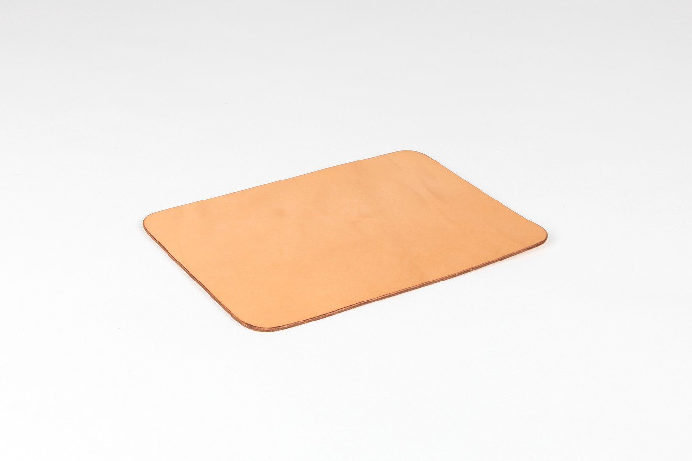 Isaac Reina - Leather Mouse Pad Natural