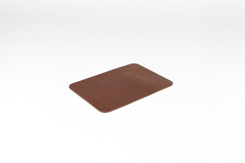 Isaac Reina - Leather Mouse Pad Chestnut