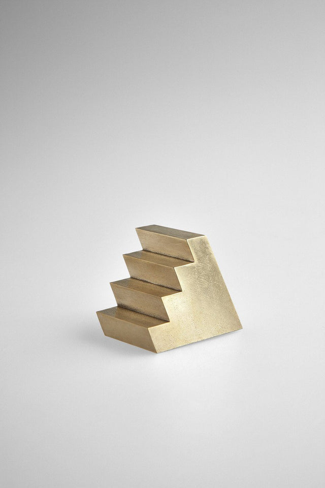 Studiokyss - Brass Staircase Paperweight