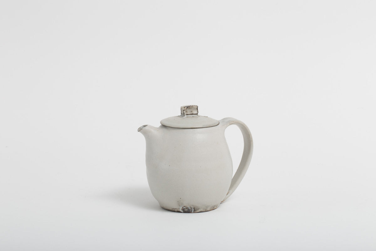 Katsufumi Baba - Tea Pot (White)