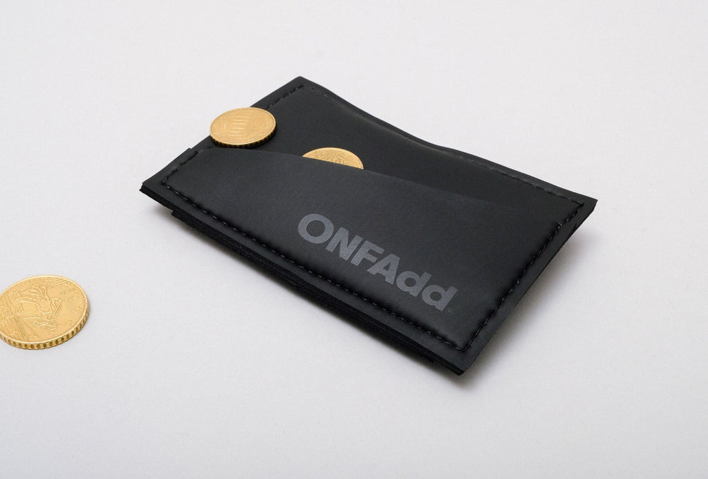 ONFAdd - Minimal Wallet Front Coins