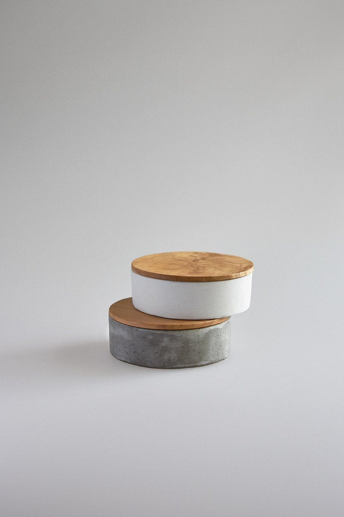 Studiokyss - Small Round Concrete Container