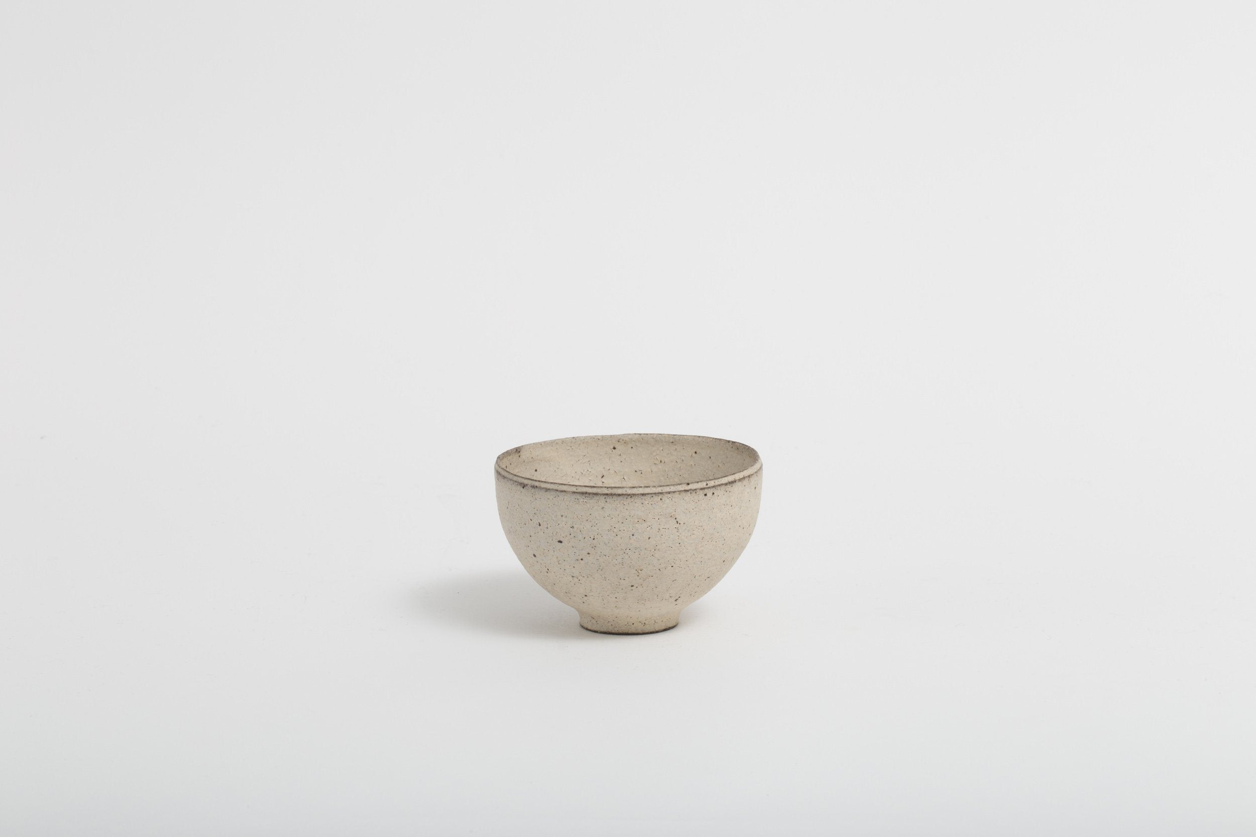 Takashi Endoh - Rice Bowl (White)