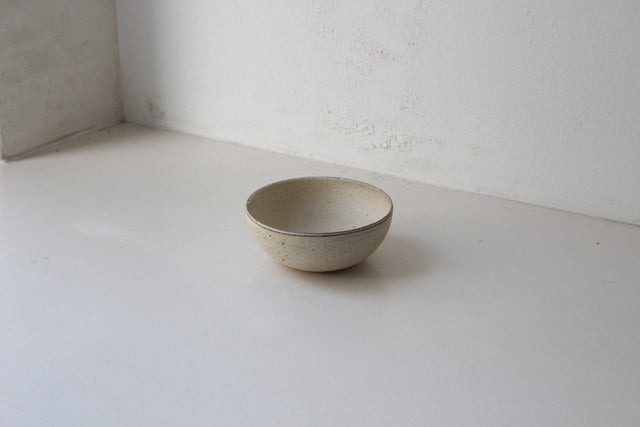 Takashi Endoh - Round Bowl (White)