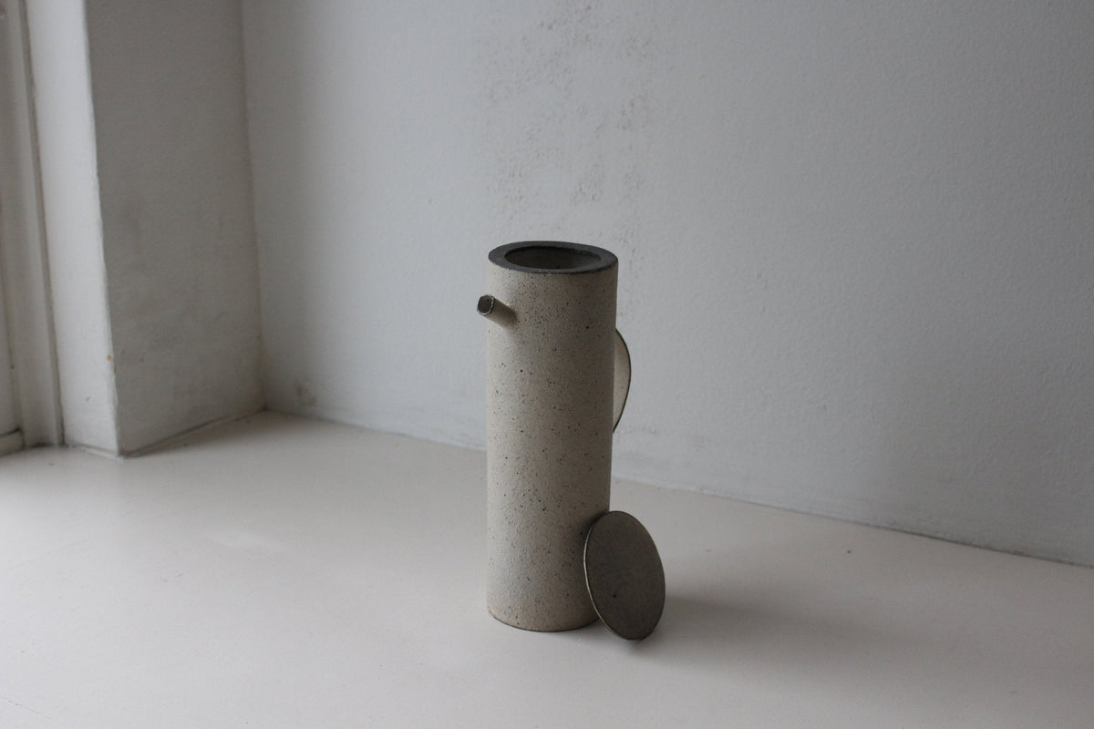 Takashi Endoh - Water Pot (White)