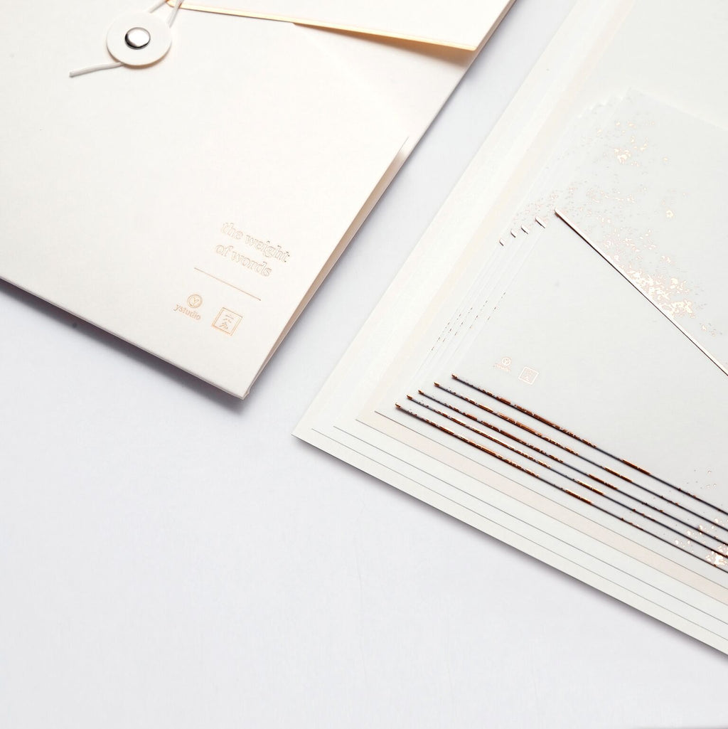 Ystudio - Letter Set White (Limited Edition)
