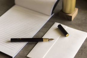 Ystudio - Resin Fountain Pen (Black)
