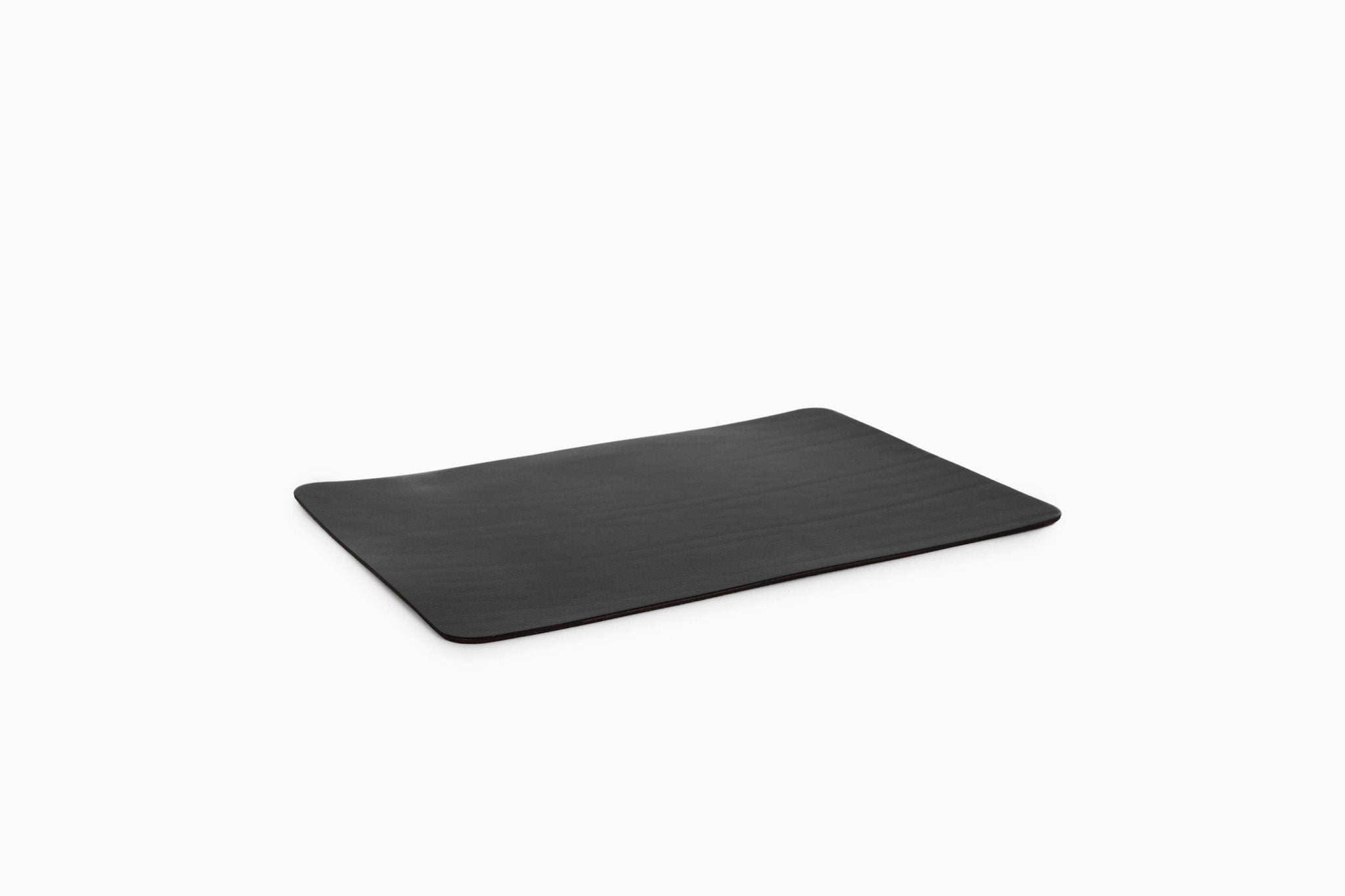 Isaac Reina - Leather Mouse Pad Black