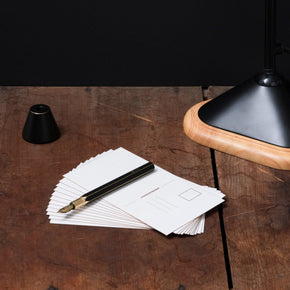 Ystudio - Desk Fountain Pen (Brassing)