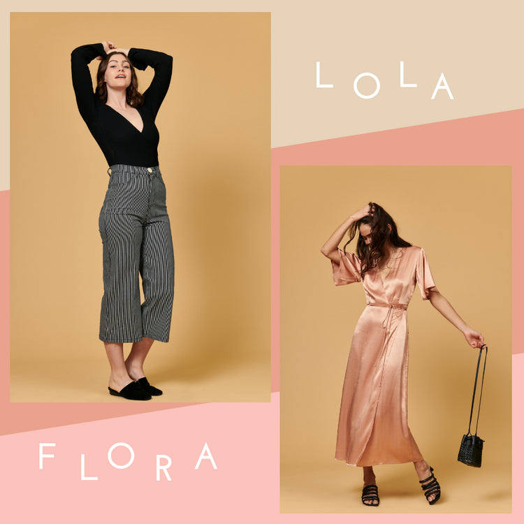Ooh la la, Flora + Lola are back! - Whimsy & Row
