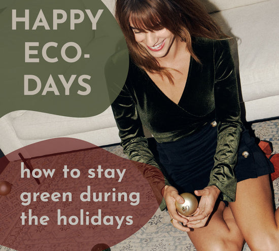 Happy Eco-Days: How to Stay Green During the Holidays - Whimsy & Row