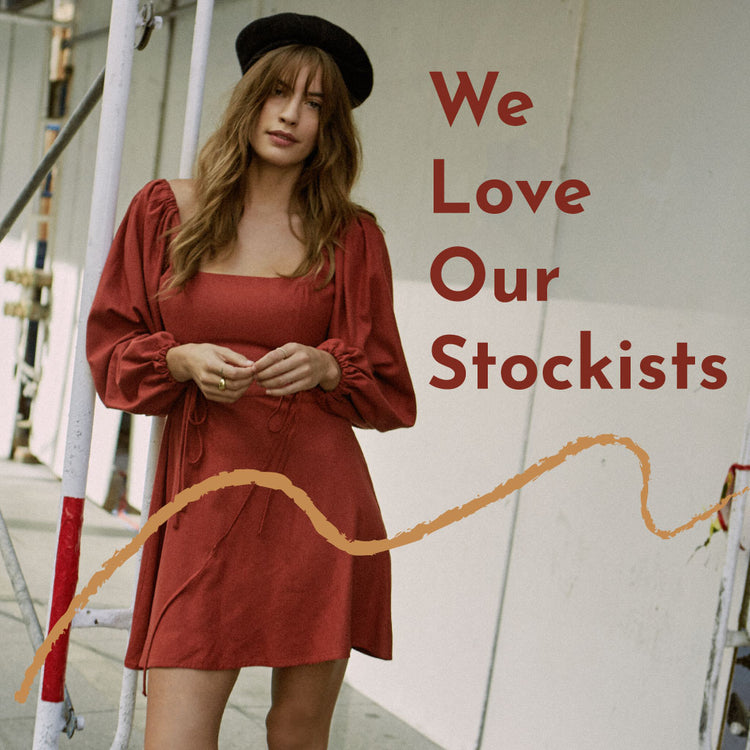 We Love Our Stockists - Whimsy & Row
