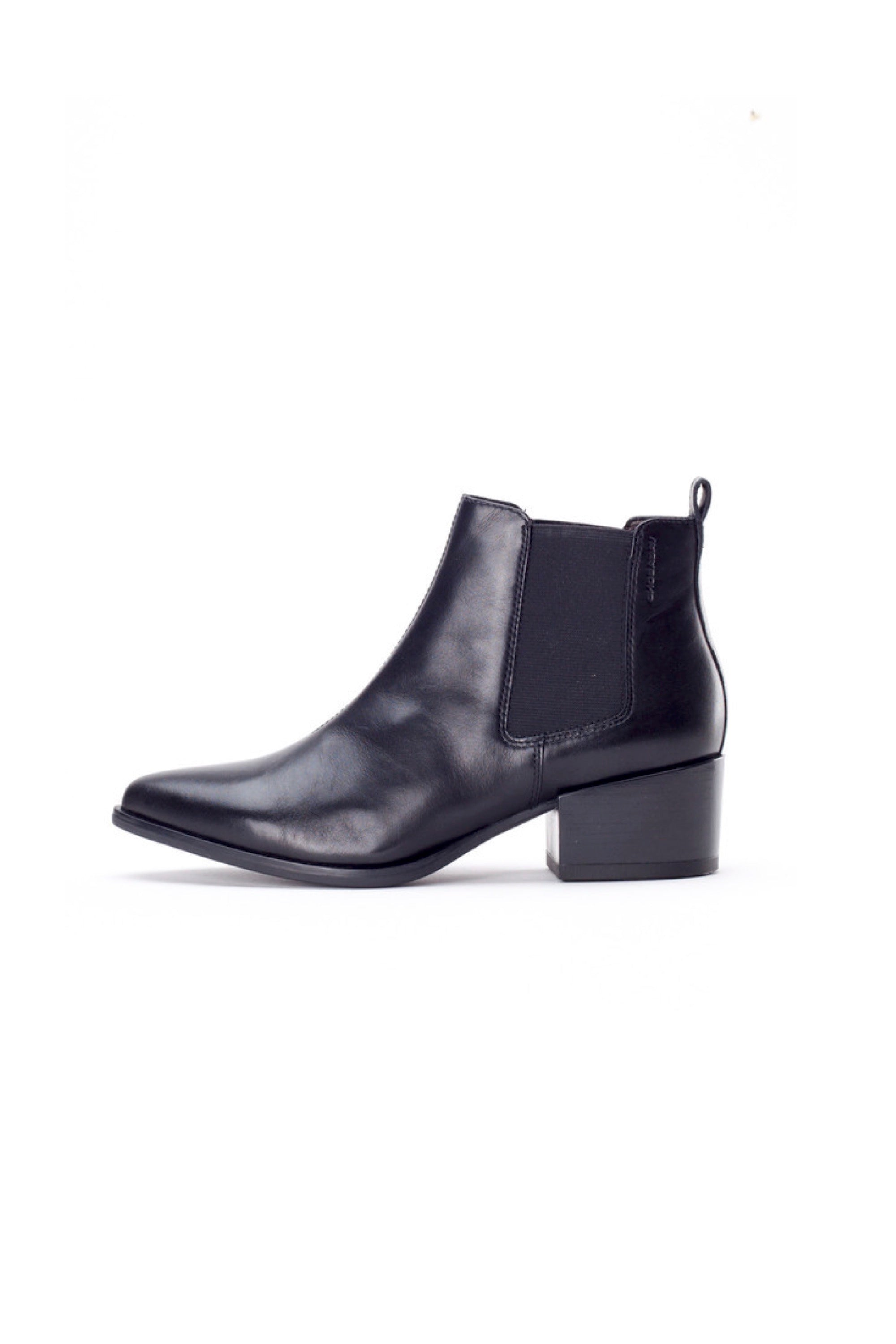 Vagabond Ankle Marja Boot Black Leather