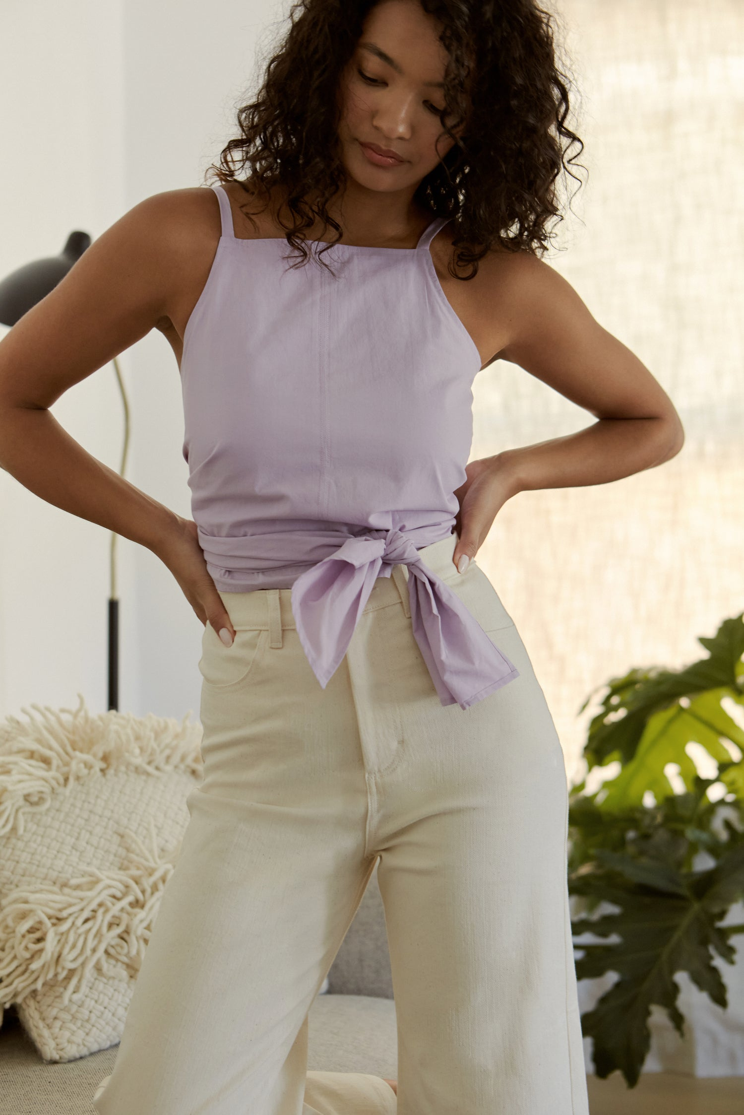 Lily Top In Lavender
