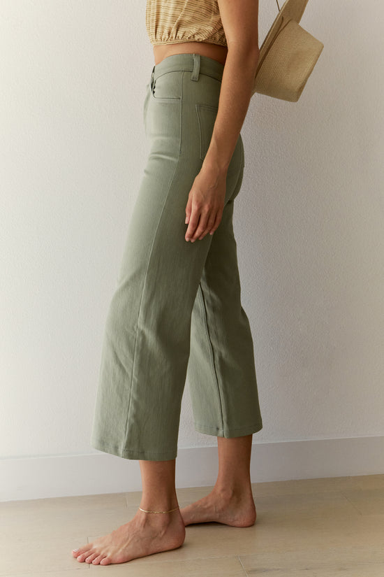 Flora Pant in Sage - Whimsy & Row