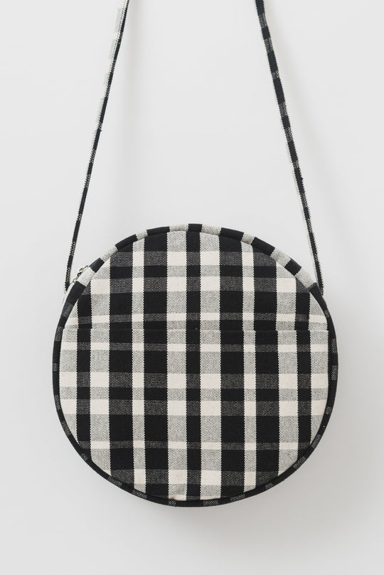 Baggu Canvas Circle Purse in Plaid