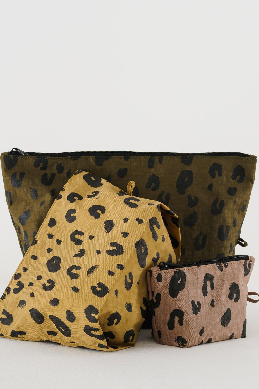Baggu Go Pouch Set- Leopard - Whimsy & Row
