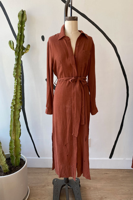 Sample Sale Zoe Dress in Sienna - Whimsy & Row