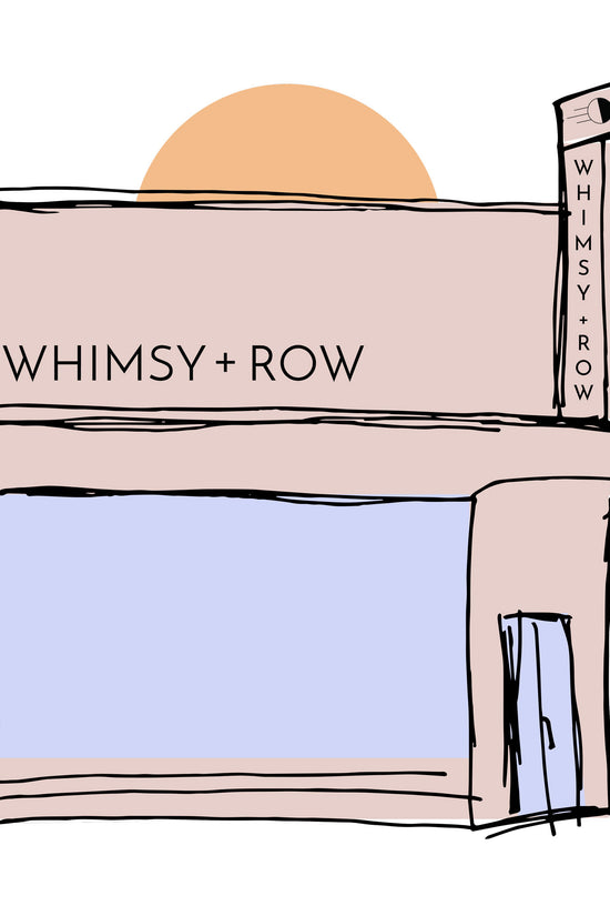 Pickup Instore - Whimsy & Row
