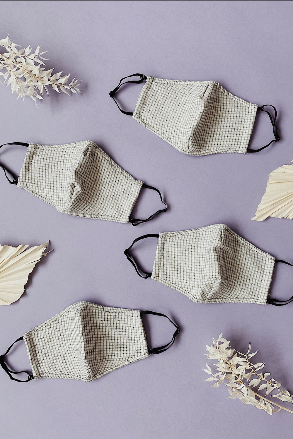 Gingham Washable Mask - Whimsy & Row
