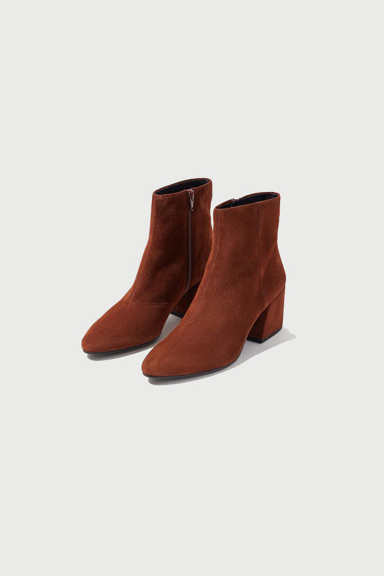 Vagabond Olivia Brown Suede Boot - Whimsy & Row