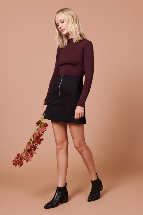 Jenna Skirt in Black
