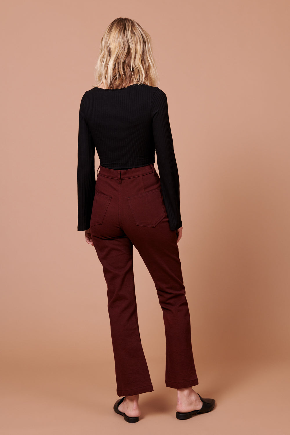 Fae Pant in Plum - Whimsy & Row