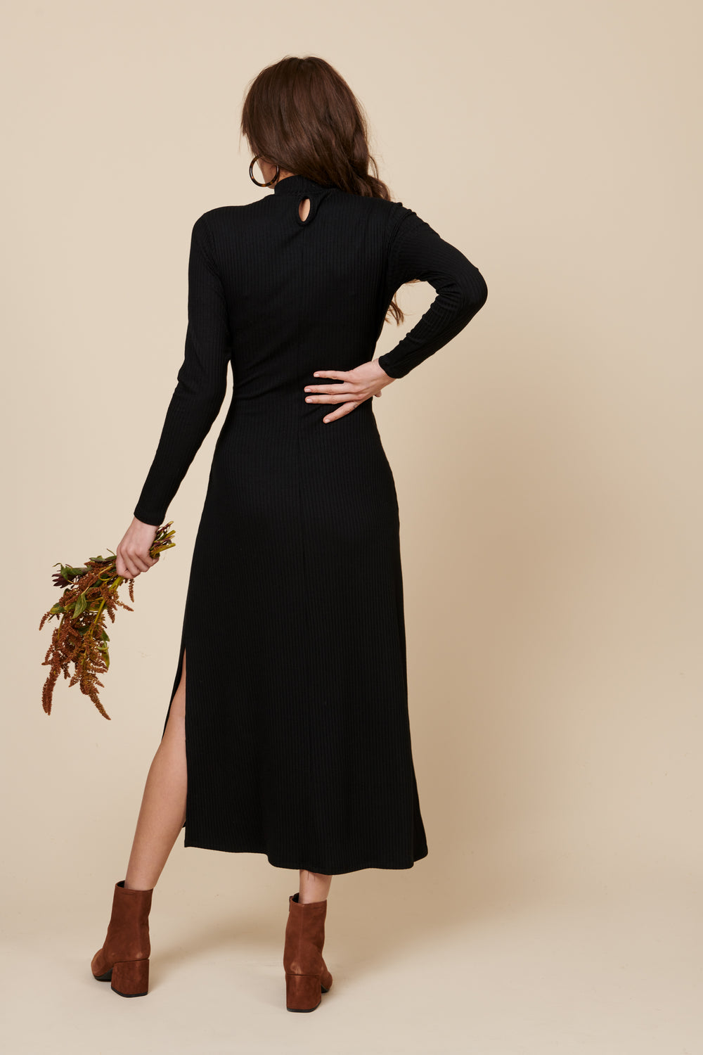The Joan Dress in Black - Whimsy & Row
