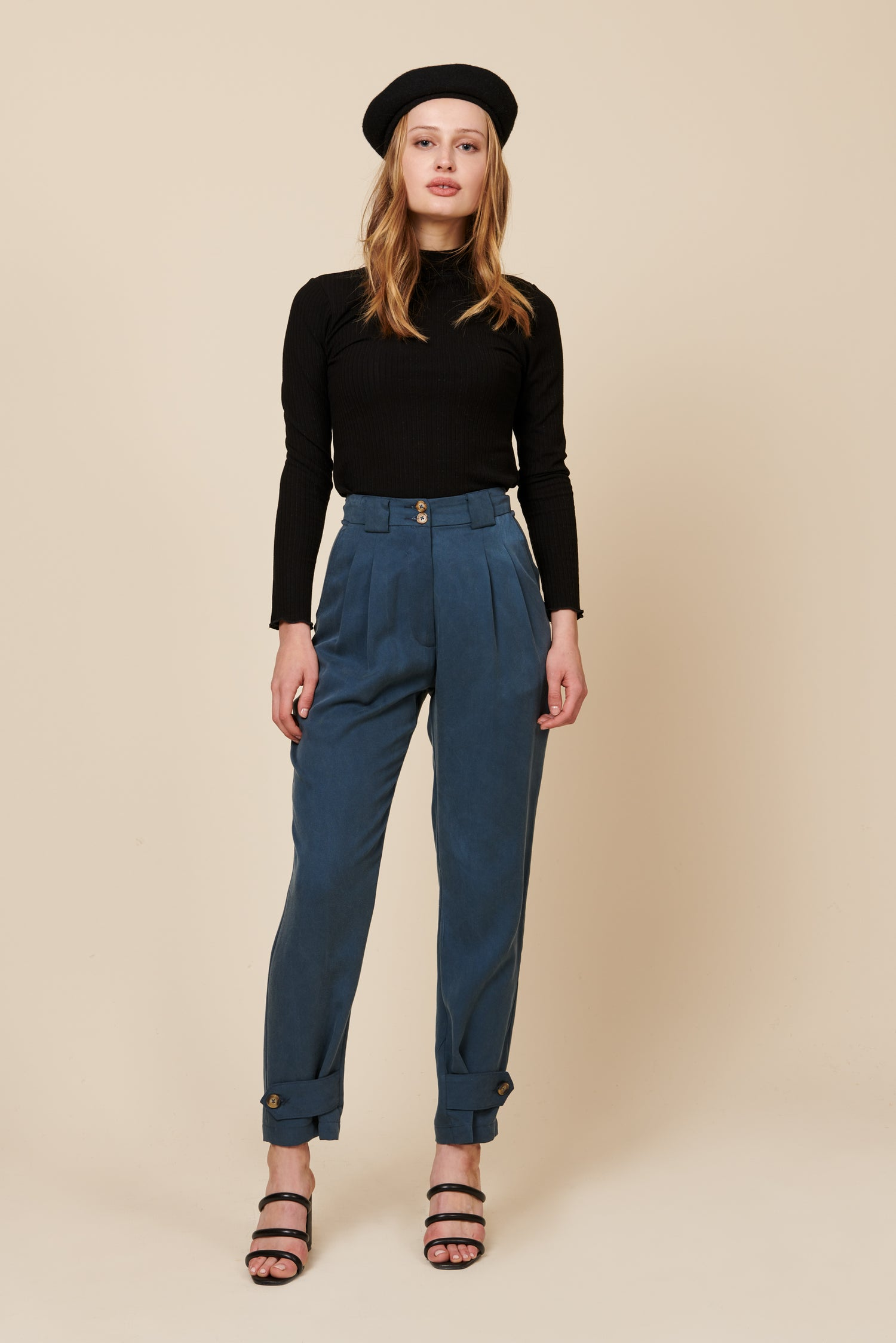 Leanna Pant in Blue
