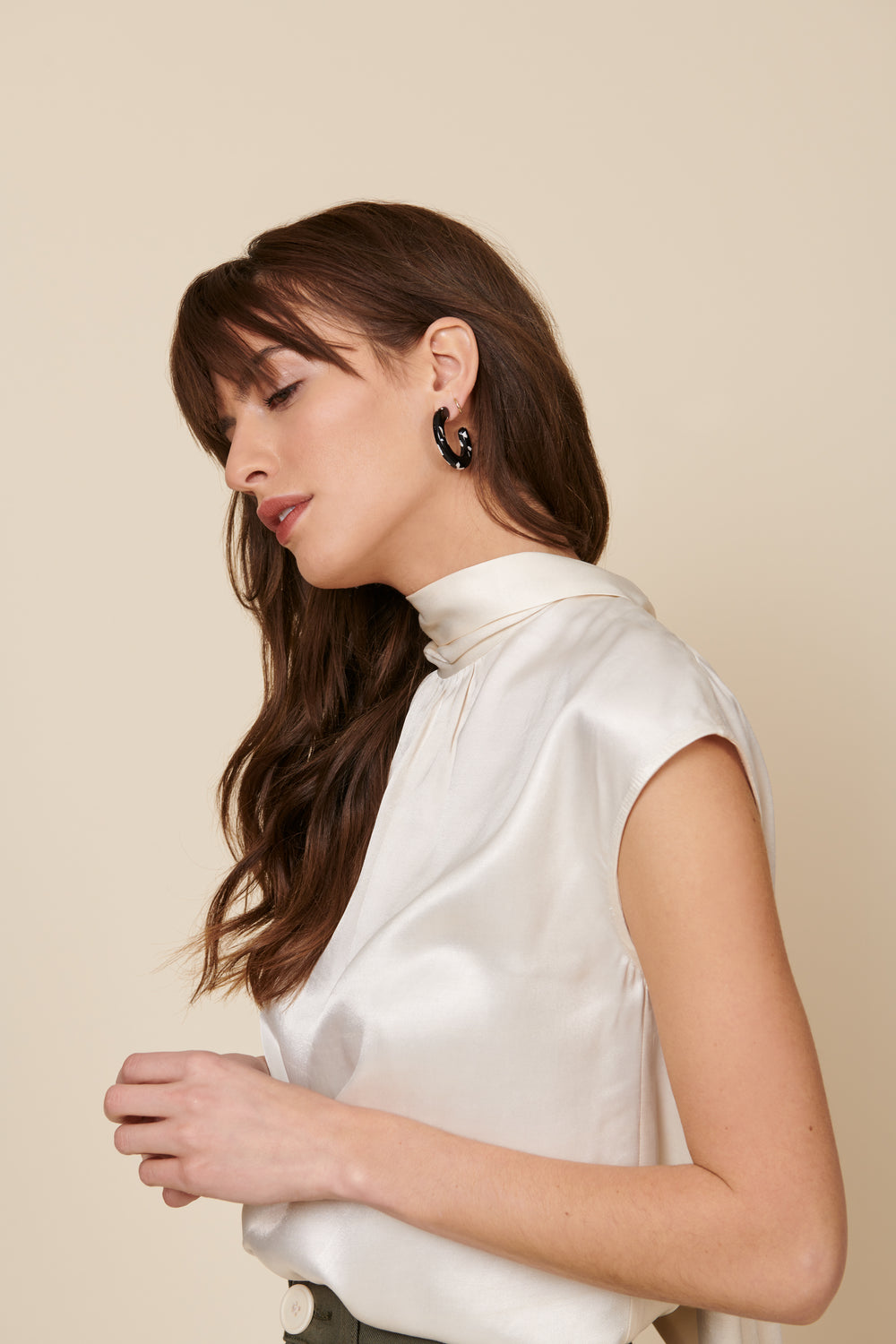 Julia Top in Cream - Whimsy & Row